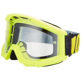 100% Strata Goggle neon yellow/anti fog clear